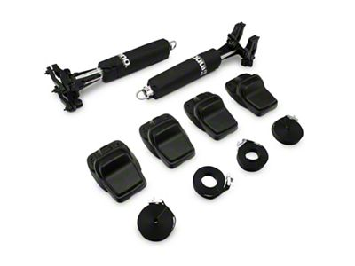 Lange Large Kayak Mount for the Lange Rack (87-19 Jeep Wrangler YJ, TJ, JK & JL)