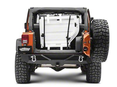 Lange Roof Panel Storage System for Trunk (07-18 Jeep Wrangler JK)