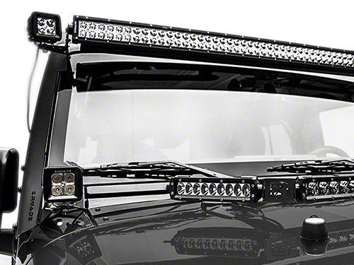 ZRoadz 3 in. LED Light Cubes w/ A-Pillar Mounting Brackets (07-18 Jeep Wrangler JK)