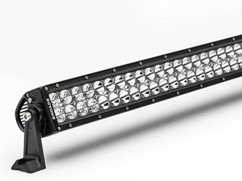 30 in. Double Row Straight LED Light Bar - Spot Beam