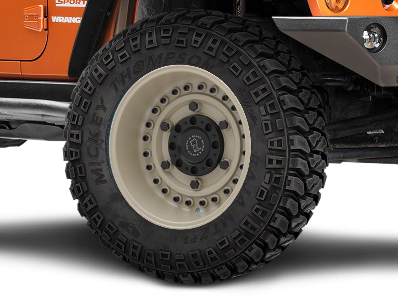Black Rhino Armory Desert Sand Wheel - 20x12 (07-18 Jeep Wrangler JK)