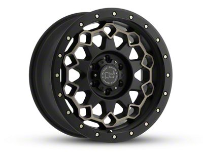 Black Rhino Diamante Matte Black Machined Wheel - 17x9 (18-19 Jeep Wrangler JL)