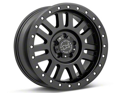 Black Rhino El Cajon Matte Black Wheels (07-18 Jeep Wrangler JK)