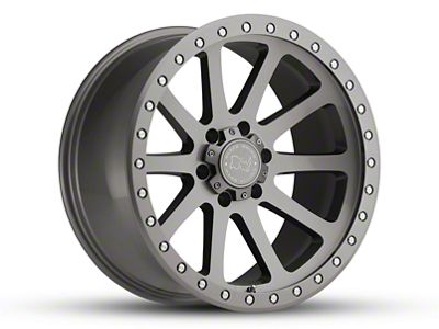 Black Rhino Mint Gloss Graphite Wheel - 17x9 (18-19 Jeep Wrangler JL)