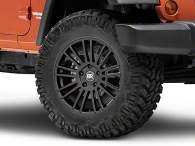 Black Rhino Kruger Gloss Black Wheel - 18x8.5 (07-18 Jeep Wrangler JK; 2018 Jeep Wrangler JL)