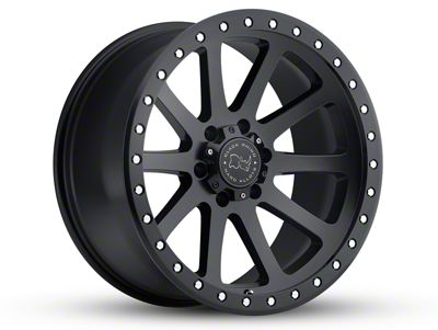 Black Rhino Mint Matte Black Wheel - 17x9 (18-19 Jeep Wrangler JL)
