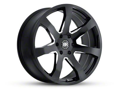 Black Rhino Mozambique Gloss Black Wheels (07-18 Jeep Wrangler JK; 2018 Jeep Wrangler JL)