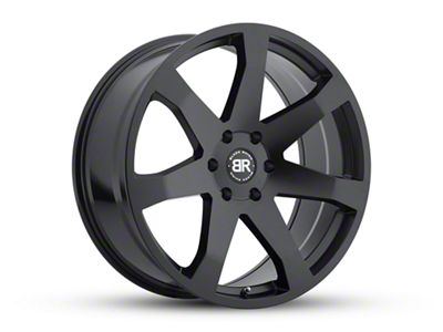 Black Rhino Mozambique Matte Black Wheel - 20x8.5 (07-18 Jeep Wrangler JK; 2018 Jeep Wrangler JL)