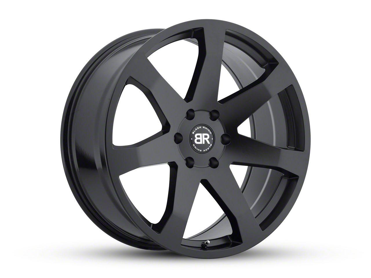Black Rhino Mozambique Matte Black Wheels (07-18 Jeep Wrangler JK; 2018 Jeep Wrangler JL)