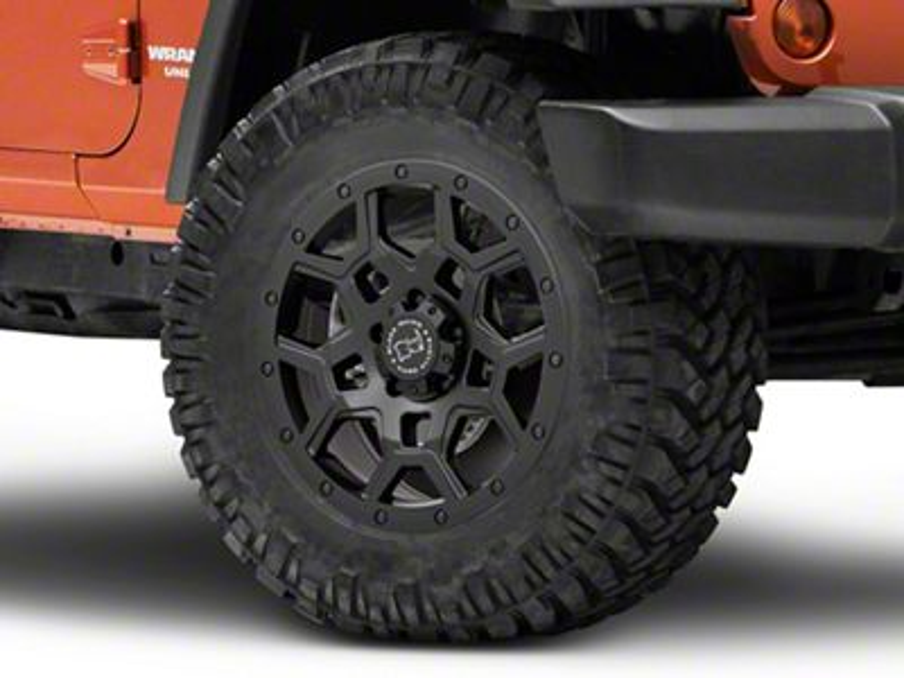 Black Rhino Overland Matte Black Wheel - 18x9.5 (07-18 Jeep Wrangler JK)