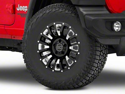Black Rhino Pinatubo Gloss Black Wheel - 17x9.5 (18-19 Jeep Wrangler JL)