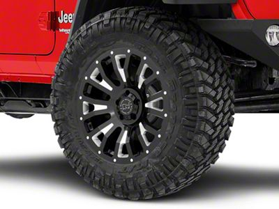 Black Rhino Pinatubo Gloss Black Wheel - 20x9.5 (18-19 Jeep Wrangler JL)