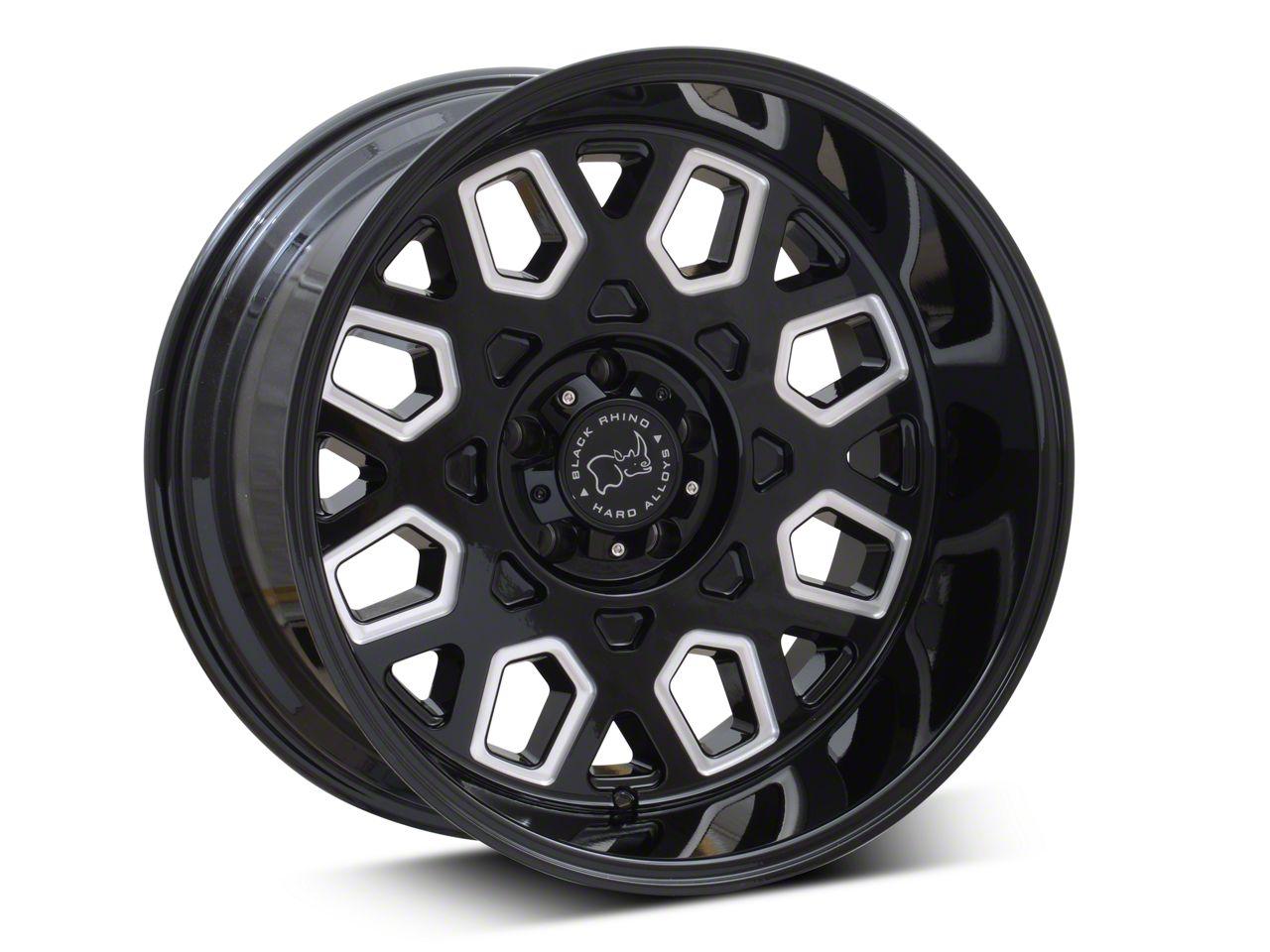 Black Rhino Predator Gloss Black Wheels (07-18 Jeep Wrangler JK; 2018 Jeep Wrangler JL)