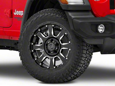 Black Rhino Sierra Gloss Black Wheel - 20x10 (18-19 Jeep Wrangler JL)