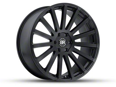 Black Rhino Spear Matte Black Wheel - 20x9 (07-18 Jeep Wrangler JK; 2018 Jeep Wrangler JL)