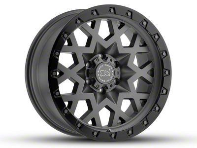 Black Rhino Sprocket Matte Gunmetal Wheel - 20x9.5 (18-19 Jeep Wrangler JL)