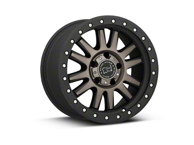 Black Rhino Tanay Matte Black Machined Wheels (07-18 Jeep Wrangler JK)