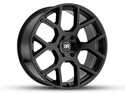 Black Rhino Tembe Gloss Black Wheel - 20x9 (07-18 Jeep Wrangler JK; 2018 Jeep Wrangler JL)