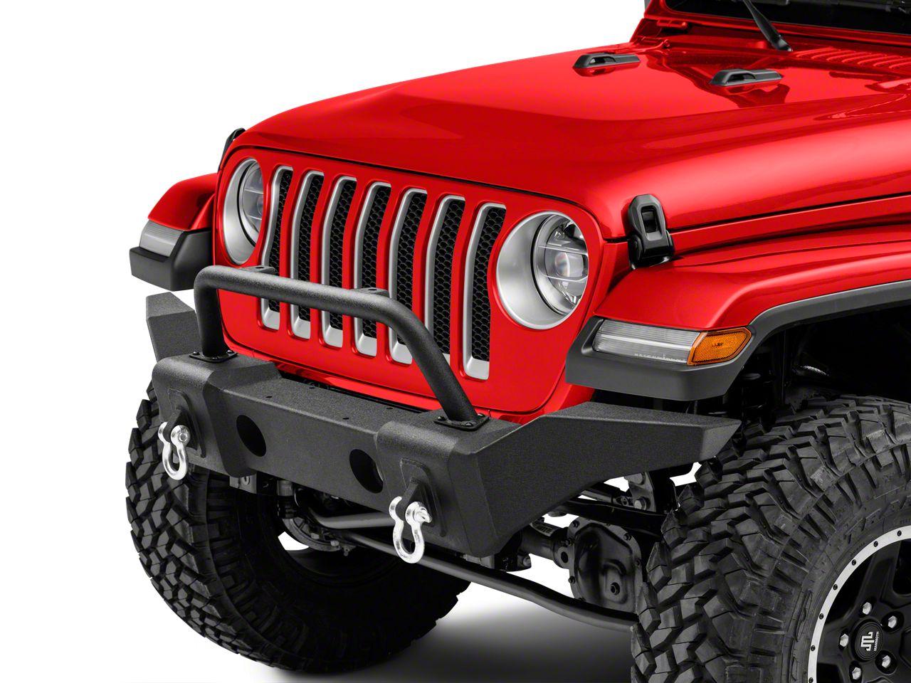 RedRock 4x4 Avenger Full Width Front Bumper w/o Winch Mount (18-19 Jeep Wrangler JL)