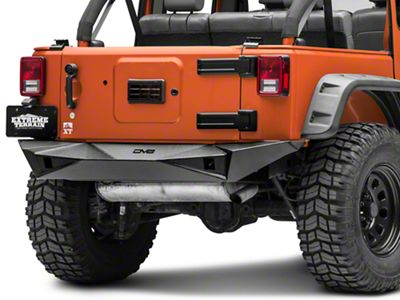 DV8 Off-Road RS-14 Full Width Rear Bumper (07-18 Jeep Wrangler JK)