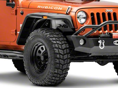 DV8 Off-Road Front Inner Fenders w/ LED Rock Lights (07-18 Jeep Wrangler JK)