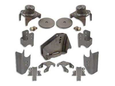 Synergy HD Rear Axle Bracket Kit (07-18 Jeep Wrangler JK)