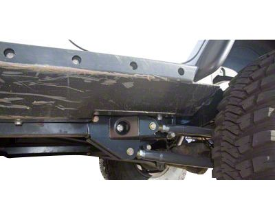 Synergy Rear High Clearance Long Arm Lower Control Arms (07-18 Jeep Wrangler JK)