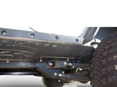 Synergy Rear Long Arm Upper Control Arms (07-18 Jeep Wrangler JK)