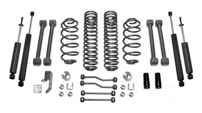 Max Trac 4 in. Lift Kit w/ Shocks (03-06 Jeep Wrangler TJ)