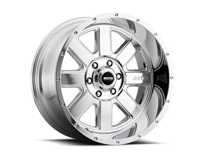 SOTA Off Road A.W.O.L. Polished Wheels (07-18 Jeep Wrangler JK; 2018 Jeep Wrangler JL)