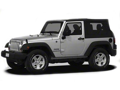 Black Horse Off Road Door Handle Covers - Black (07-18 Jeep Wrangler JK 2 Door)