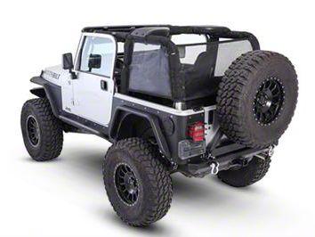 Smittybilt Cloak Mesh Sides & Rear (97-06 Jeep Wrangler TJ)