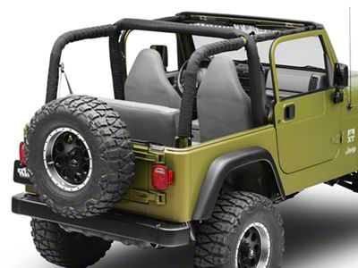 Smittybilt MOLLE Sport Bar Cover Kit (97-06 Jeep Wrangler TJ)