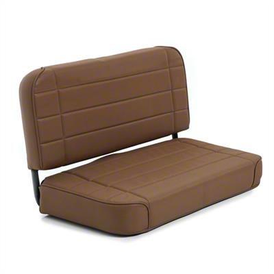 Smittybilt Rear Standard Seat - Denim Spice (87-95 Jeep Wrangler YJ)