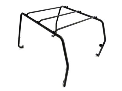 Smittybilt SRC Roof Rack - Black Textured (87-95 Jeep Wrangler YJ)