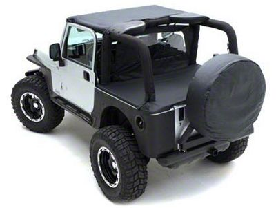 Smittybilt Tonneau Cover for OEM Soft Top - Denim Spice (92-95 Jeep Wrangler YJ)