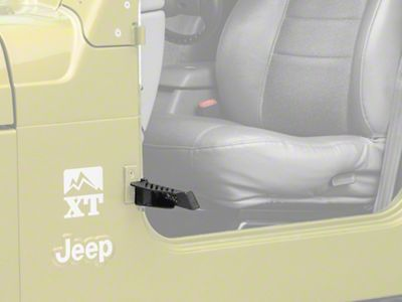 Smittybilt XRC Foot Pegs (97-06 Jeep Wrangler TJ)