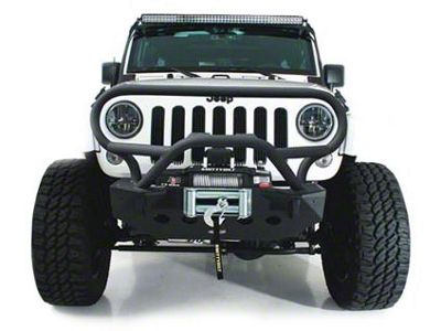 Smittybilt XRC Brush Guard for M.O.D. Bumper System (07-18 Jeep Wrangler JK)
