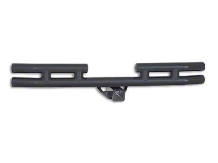 Smittybilt Rear Tubular Bumper - Gloss Black (87-06 Jeep Wrangler YJ & TJ)