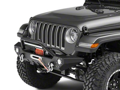 Barricade Adventure HD Front Bumper w/ LED Fog Lights & 20 in. LED Light Bar (2018 Jeep Wrangler JL)