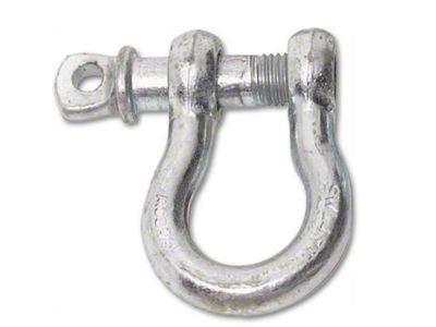 Smittybilt 3/4 in. 4.75 Ton D-Ring Shackle - Zinc