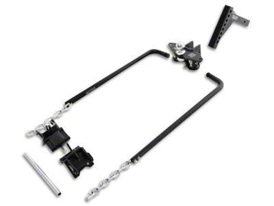 Smittybilt 2 in. Class II Receiver Weight Distributing Hitch (87-19 Jeep Wrangler YJ, TJ, JK & JL)