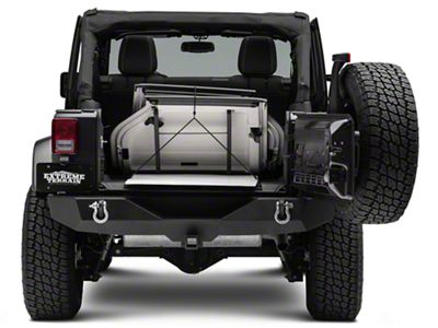 Sto-R-Tops Freedom Top Travel & Storage Rack (07-18 Jeep Wrangler JK; 2018 Jeep Wrangler JL)