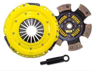 ACT HD/Race Street Sprung Clutch Kit (87-95 Jeep Wrangler YJ; 97-06 4.0L Jeep Wrangler TJ)