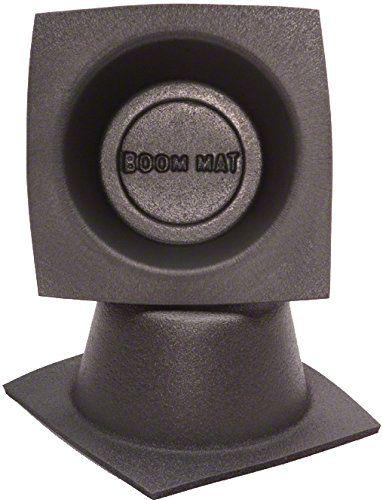 Boom Mat Speaker Baffles - 4 in. Round Slim (87-18 Wrangler YJ, TJ, JK & JL)