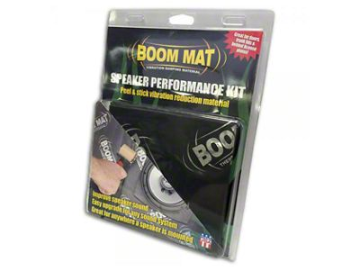 Boom Mat Speaker Performance Kit (87-18 Jeep Wrangler YJ, TJ, JK & JL)