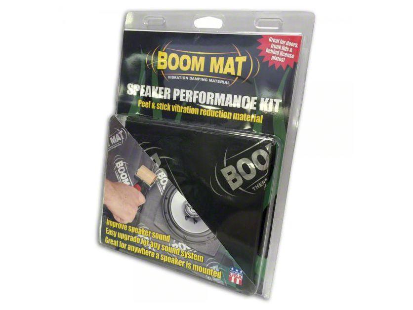 Boom Mat Speaker Performance Kit (87-18 Wrangler YJ, TJ, JK & JL)