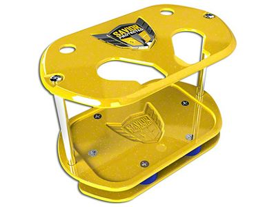 Savior Show Case for Optima 34 Batteries - Yellow Sparkle (87-18 Jeep Wrangler YJ, TJ, JK & JL)