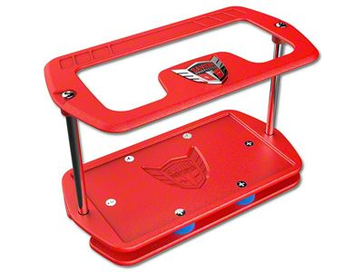 Savior Pro Case for Group 27 Batteries - Red Wrinkle (87-18 Jeep Wrangler YJ, TJ, JK & JL)
