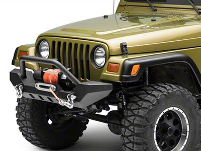 Barricade Adventure HD Bumper (87-06 Jeep Wrangler YJ & TJ)